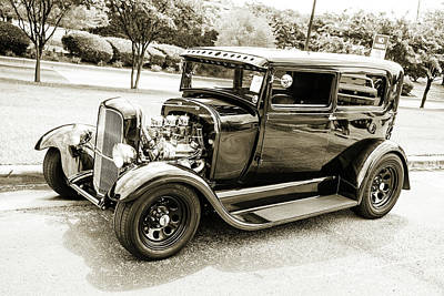 Photograph - 1929 Ford Model A 5511.55 by M K  Miller