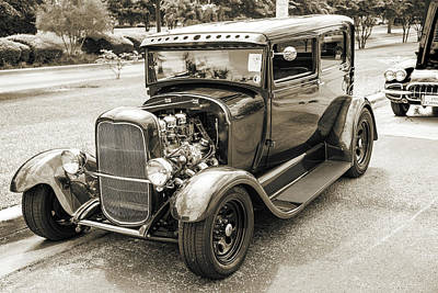 Photograph - 1929 Ford Model A 5511.56 by M K Miller