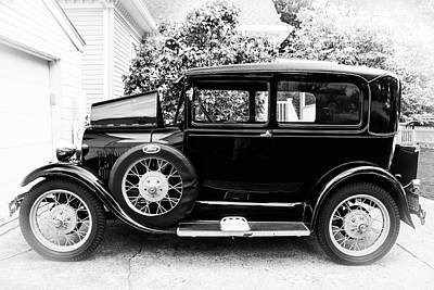 1929 Ford Model A By Earl's Photography Art Print by Earl Eells a