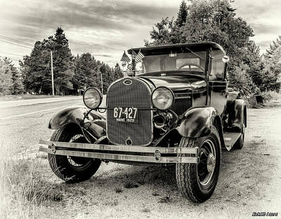 Photograph - 1929 Ford Model A Pickup by Ken Morris