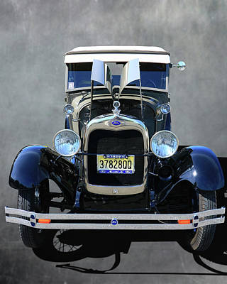 Photograph - 1929 Ford Model A Sport Coupe by Allen Beatty