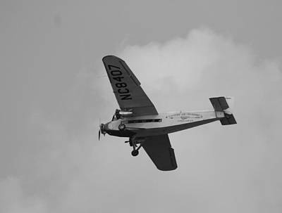 Ford Trimotor Photograph - 1929 Ford Tri Motor Mail Plane by David Dunham