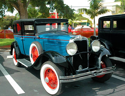Photograph - 1929 Marmon Roosevelt 8 Sedan by Ginger Wakem