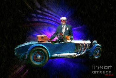 Photograph - 1929 Mercedes Benz S Barker Tourer And Bruce Mccaw 2017 Pebble Beach Concours D Elegance Winner  by Blake Richards