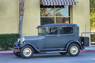 Photograph - 1929 Model A by Bill Dutting