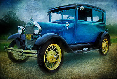 Photograph - 1929 Model A Ford-two by Anna Louise