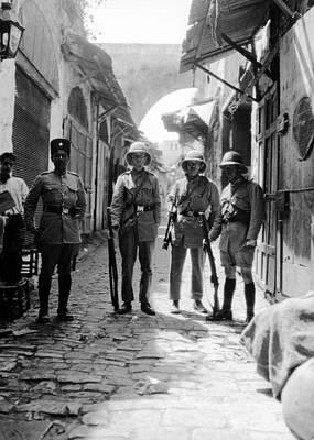 Photograph - 1929 Riots In Jerusalem by Munir Alawi