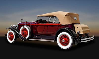 Photograph - 1929 Rolls Royce Convertible  -  29rolls103 by Frank J Benz