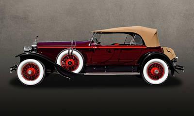 Photograph - 1929 Rolls Royce Convertible  -  29rolls201 by Frank J Benz