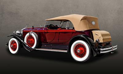Photograph - 1929 Rolls Royce Convertible  -  29rolls203 by Frank J Benz