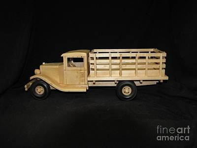 Photograph - 1929 Stake Bed Truck by Marilyn Carlyle Greiner