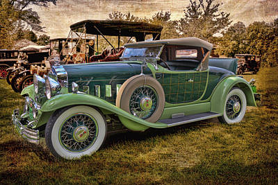 Photograph - 1929 Willys Knight Plaidside Roadster by Susan Rissi Tregoning