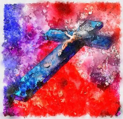 Jesus Christ - Religious Art Art Print