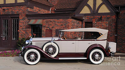 Photograph - 1930 Buick Phaeton by Ronald Grogan