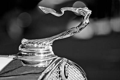 Photograph - 1930 Cadillac Roadster Hood Ornament 4 by Jill Reger