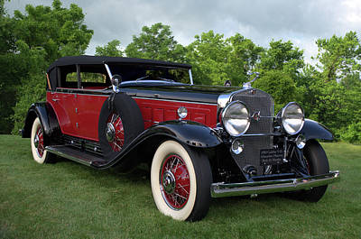 Photograph - 1930 Cadillac V16 Allweather Phaeton by Tim McCullough