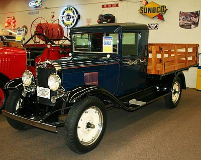 Photograph - 1930 Chevrolet Stake Bed Truck by John Black