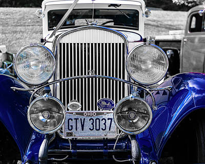 Photograph - 1930 Chryaler 70 Coupe by Jack R Perry
