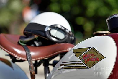 Photograph - 1930 Classic Harley-davidson by George Atsametakis