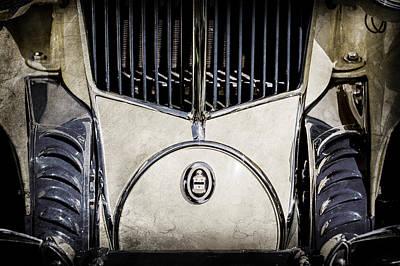 Photograph - 1930 Cord L-29 Speedster Grille Emblem -0464ac by Jill Reger