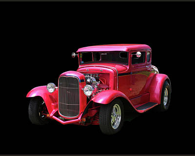 Photograph - 1930 Ford 5 Window Coupe by Jack Pumphrey