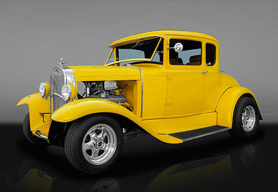 1930 Ford Coupe Art Print