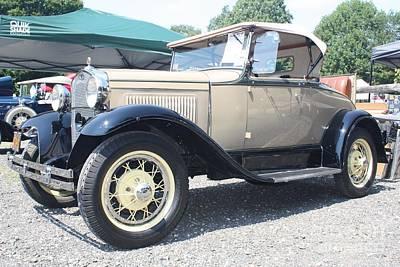 1930 Ford Model A Convertible Art Print