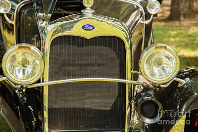 Photograph - 1930 Ford Model A Original Sedan 5538,11 by M K Miller