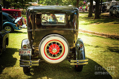 Photograph - 1930 Ford Model A Original Sedan 5538,14 by M K Miller