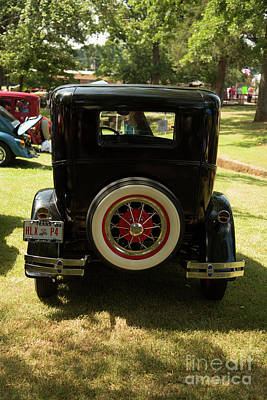 Photograph - 1930 Ford Model A Original Sedan 5538,15 by M K Miller