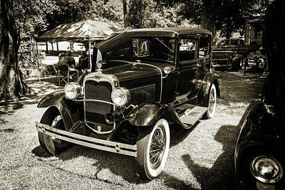 Photograph - 1930 Ford Model A Original Sedan 5538,18 by M K Miller