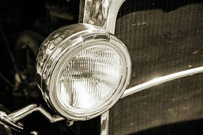 Photograph - 1930 Ford Model A Original Sedan 5538,20 by M K Miller