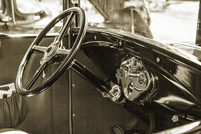 Photograph - 1930 Ford Model A Original Sedan 5538,23 by M K Miller