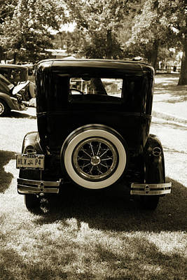 Photograph - 1930 Ford Model A Original Sedan 5538,26 by M K Miller