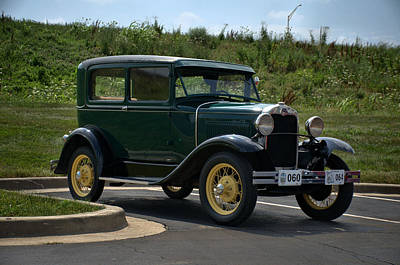 Photograph - 1930 Ford Model A Tudor by Tim McCullough