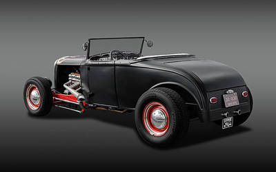 Photograph - 1930 Ford Roadster -  1930fordroadstercvfa170368 by Frank J Benz