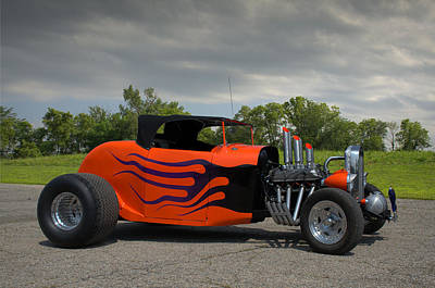 Photograph - 1930 Ford Roadster Hot Rod by Tim McCullough