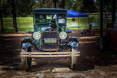 Photograph - 1930 Ford Stakebed Truck 5512.12 by M K  Miller