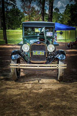 Photograph - 1930 Ford Stakebed Truck 5512.13 by M K  Miller