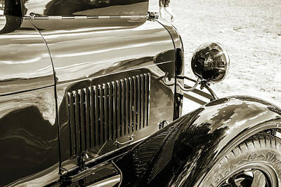 Photograph - 1930 Ford Stakebed Truck 5512.60 by M K  Miller