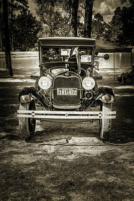 Photograph - 1930 Ford Stakebed Truck 5512.62 by M K  Miller
