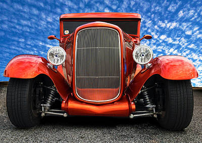 Photograph - 1930 Ford Street Rod by Mark Guinn