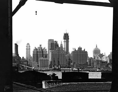 Photograph - 1930 Midtown Manhattan by Underwood Archives