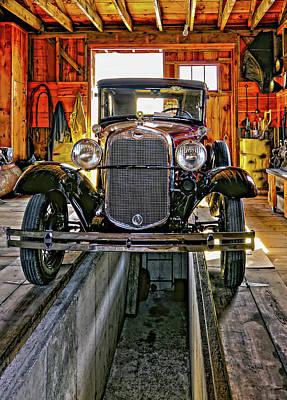 Car Repairs Photograph - 1930 Model T Ford by Steve Harrington