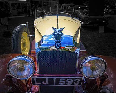 Photograph - 1930 Vauxhall Hurlingham Boattail by Jack R Perry