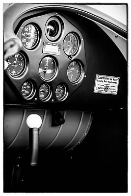 Photograph - 1930s Cockpit by Chris Smith