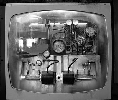 Photograph - 1930s Ice Making Machine by David Lee Thompson