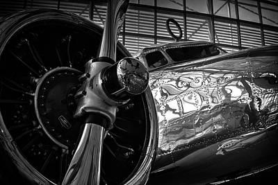 Lockheed Electra Photograph - 1930s Lockheed Electra Aircraft by Daniel Hagerman