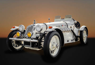 Photograph - 1931 Alpha Romeo Roadster  -  Alro1 by Frank J Benz