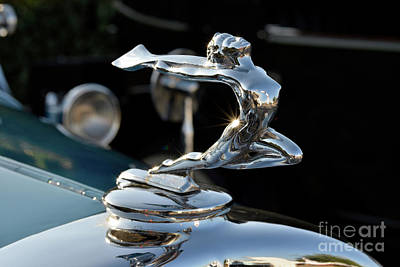 Mascot Photograph - 1931 Buick Badge by George Atsametakis